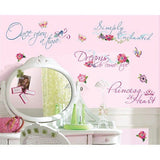 Disney Princess Quotes Peel & Stick Wall Room Mates Decals - RMK1521SCS
