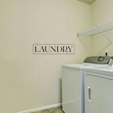 """The Laundry Room"" Wall Sticker Vinyl Sticker"