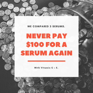never pay $100 for a serum again