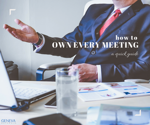 how to own every meeting