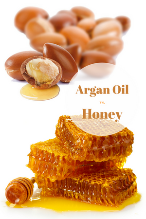 ingredient battle argan oil vs honey