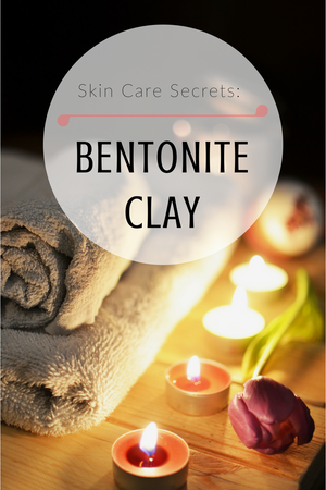 bentonite clay on face