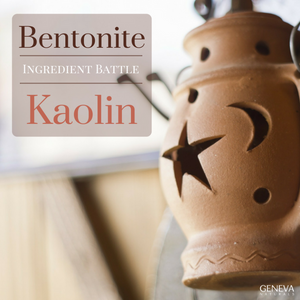 Ingredient Battle: Kaolin vs. Bentonite
