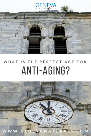 perfect age for anti aging products