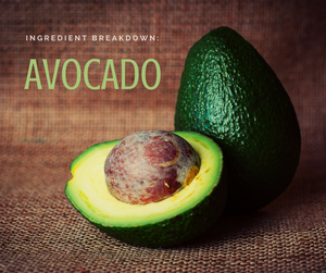 avocado ingredient breakdown