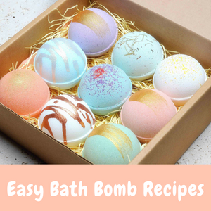 easy bath bomb recipes