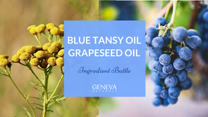 blue tansy oil and grapeseed oil ingredient battle