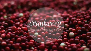 Ingredient Breakdown: Cranberry