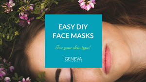 easy diy face masks for your skin type
