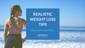 realistic weight loss tips for beginners