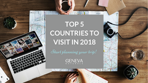 top 5 countries to visit in 2018