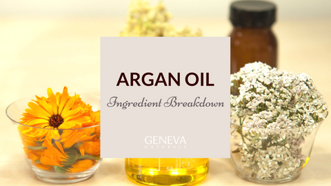 Argan oil ingredient breakdown