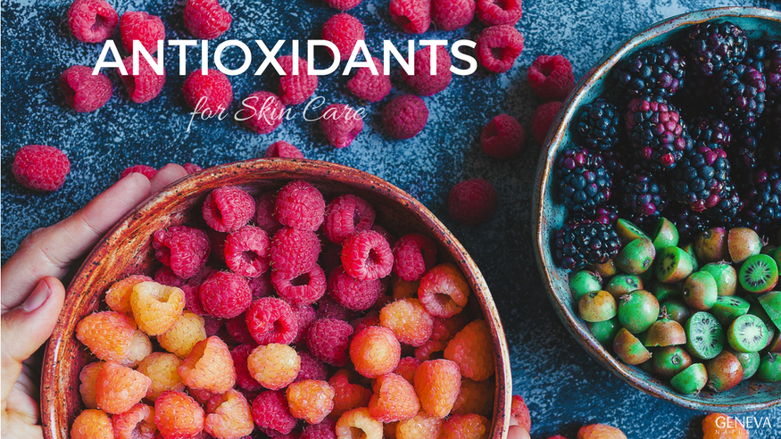 skin care and antioxidants