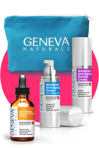 Geneva Naturals Anti-Aging Skin Care Kit