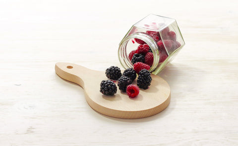 berries with antioxidants