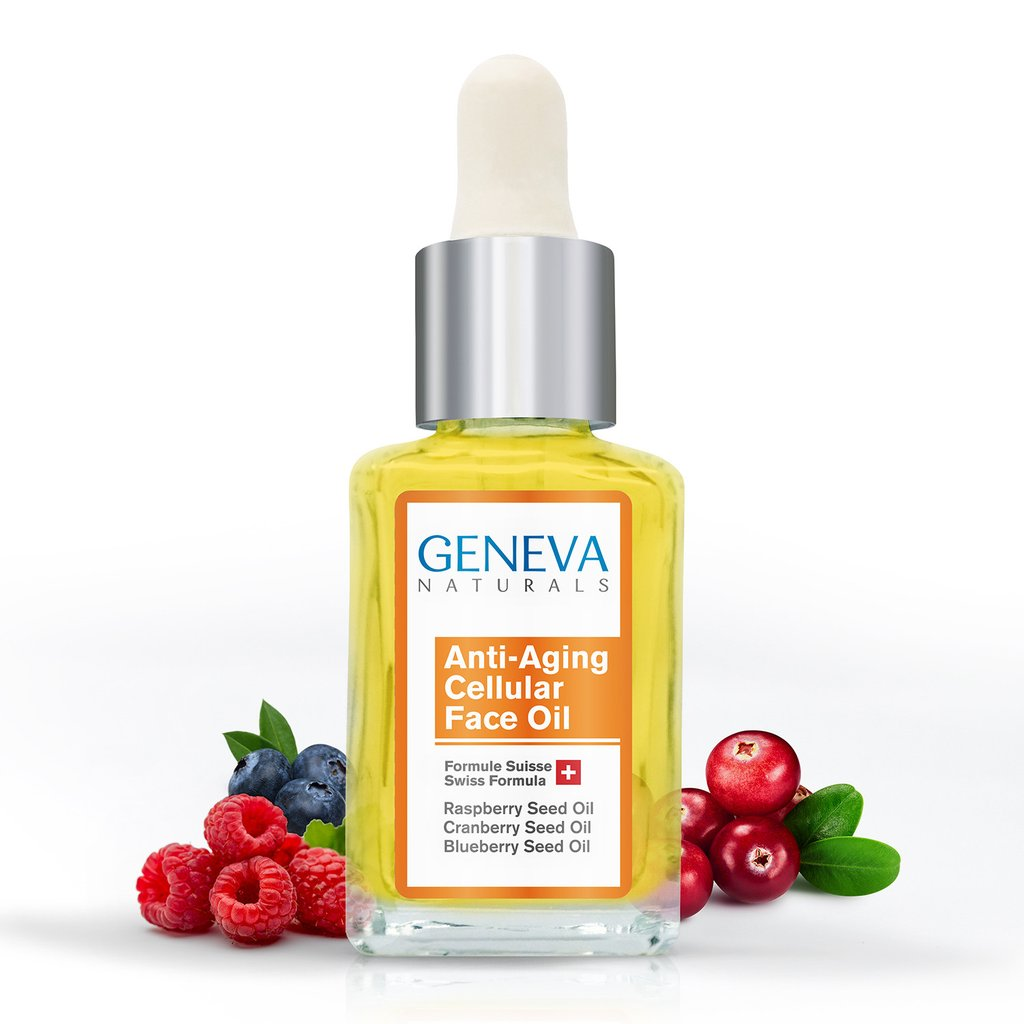 geneva naturals anti aging cellular face oil