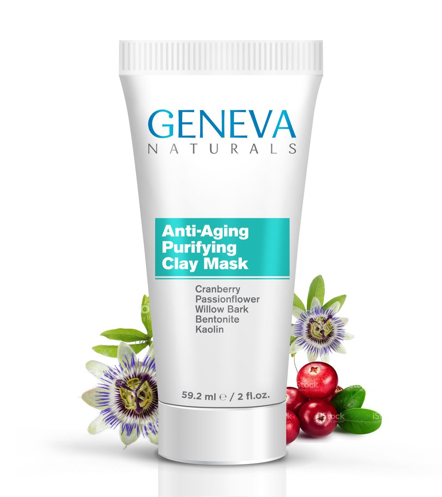 geneva naturals anti-aging purifying clay mask