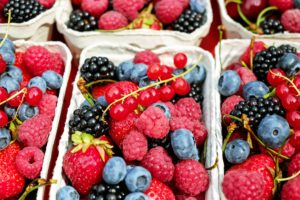 fruits with antioxidants for skin care