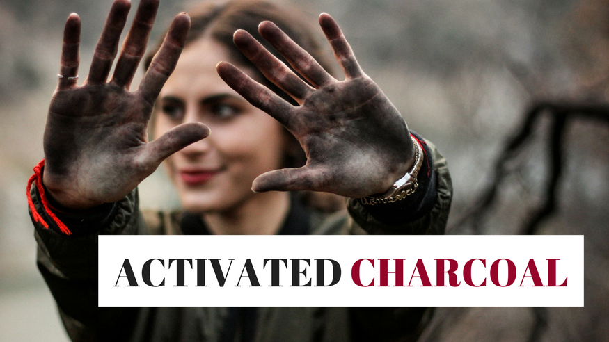 activated charcoal uses skin