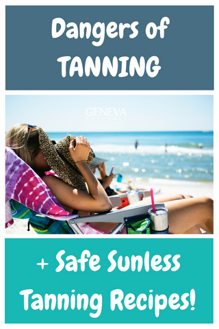 safe diy sunless tanning recipes