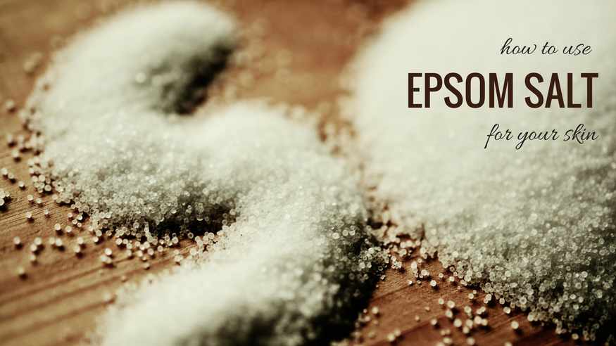 epsom salt for skin