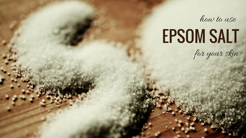 epsom salt for the skin