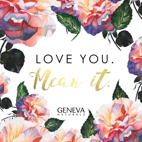 love you | geneva naturals galentines ecard