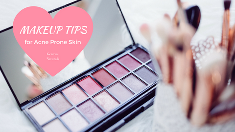 makeup tips for acne prone skin