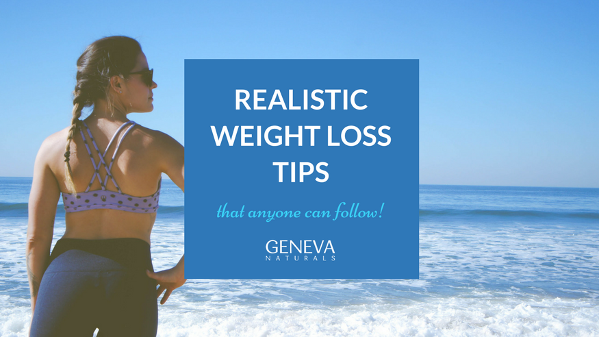 realistic weight loss tips