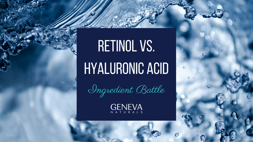 retinol and hyaluronic acid for skin care