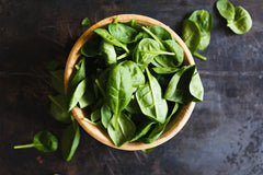 spinach for good skin