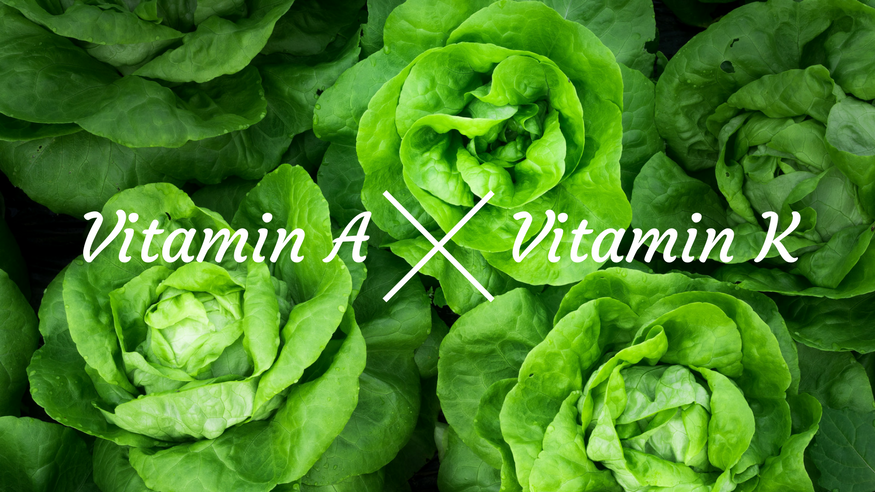 vitamin a and vitamin k for skin care