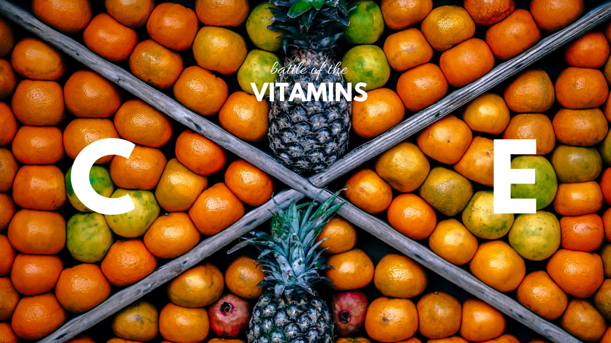 vitamin e and vitamin c for skin care