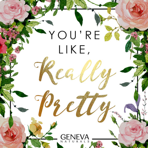 really pretty | geneva naturals galentines ecard
