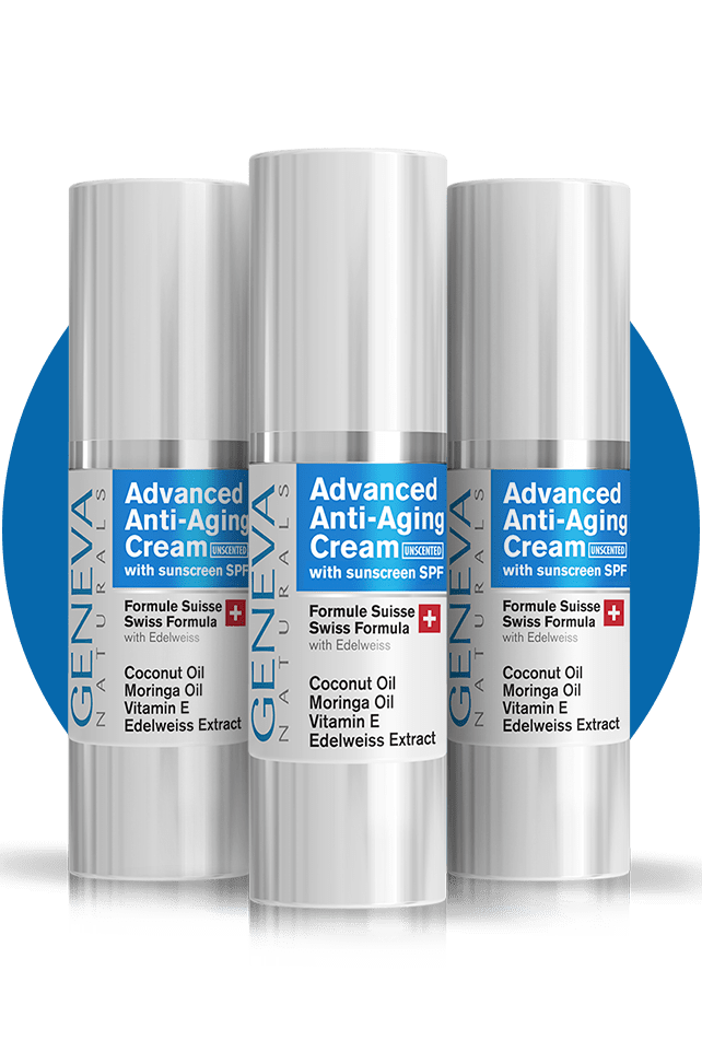 Anti-Aging Facial Moisturizer (Unscented) - 3 More Bottles - Save $50