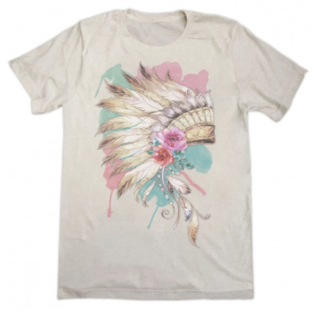 Vintage Headress Short Sleeve