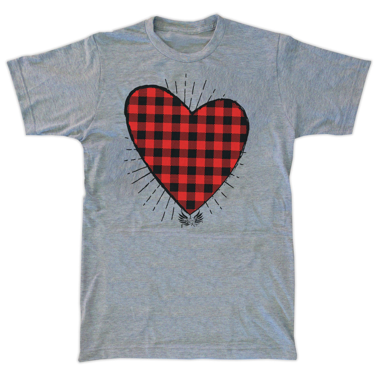 Buffalo Plaid Heart