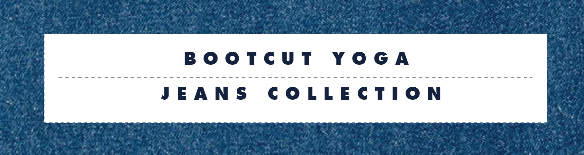 Bootcut Yoga Jeans Collection