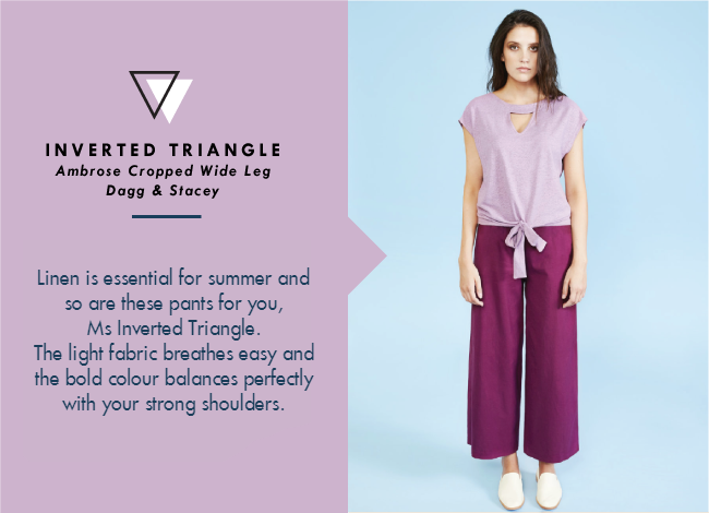 Shop Your Shape: Inverted Triangle