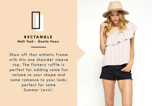 Shop Your Shape: Rectangle