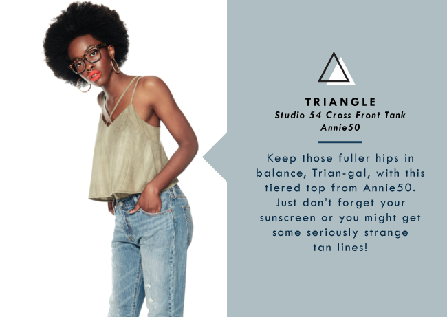 Shop Your Shape: Triangle