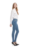 High Rise Skinny Antigua