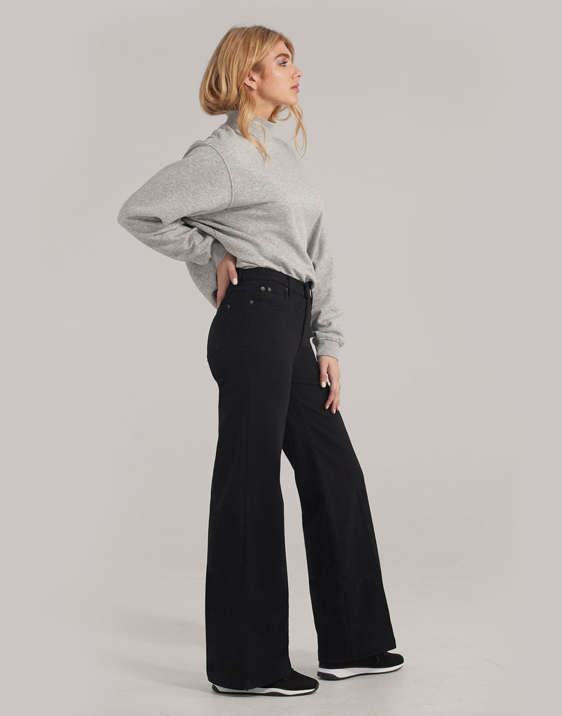 High Rise Wide Leg Patience-34""