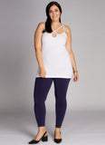 Plus Size Bamboo High-waist Leggings