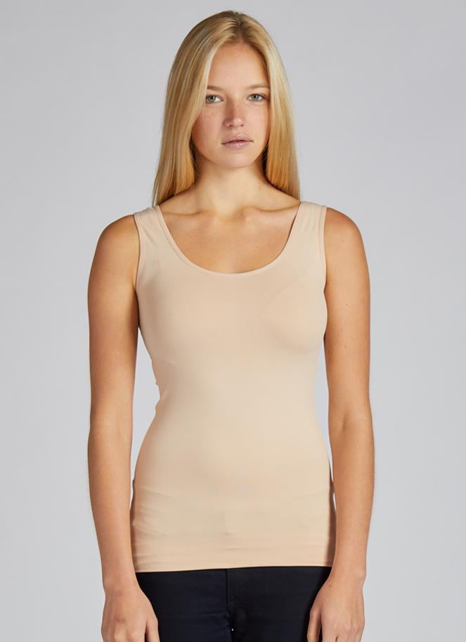 Seamless Nylon Reversible Tank