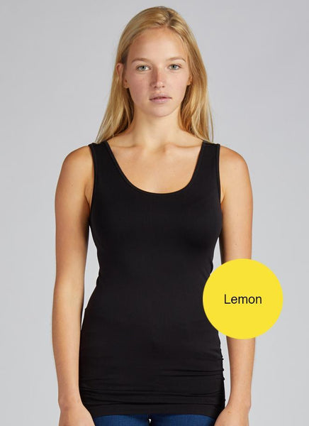Seamless Nylon Scoop Tank