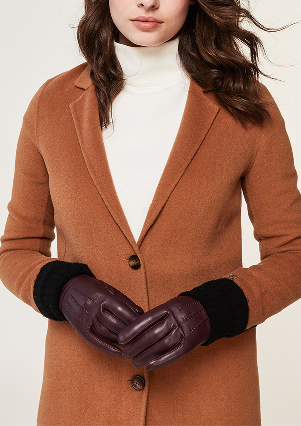 Carmel-N Leather Gloves