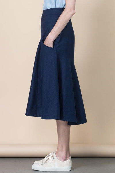Fjord Skirt with Front Pockets