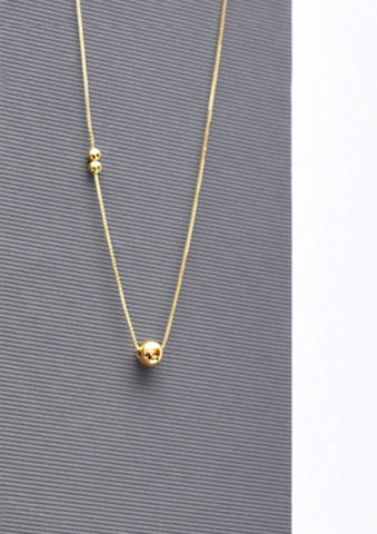 Orb on the Treads Necklace