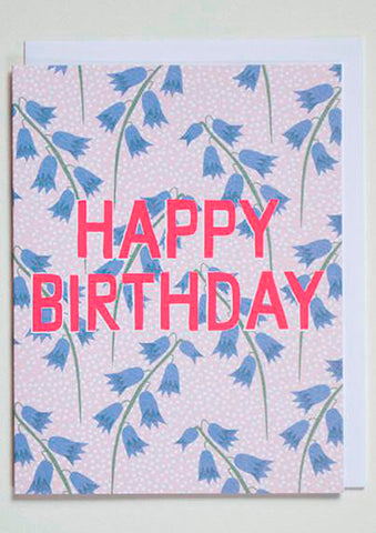 Birthday Bluebells Card